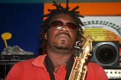 Izy. Rehearsals at Studio 247, Abidjan-Yopougon, 23.06.2010 (0805)