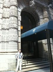 outside the University Club