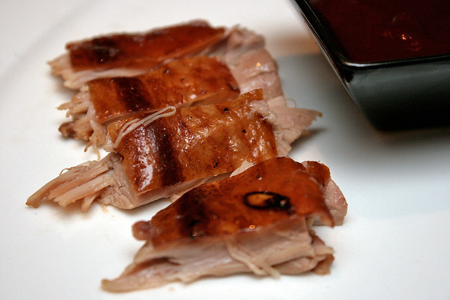 Roast suckling pig, Western style