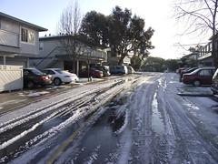 Hail in Santa Cruz 4