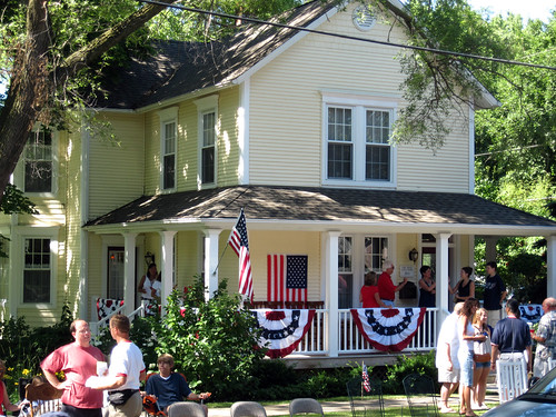 Our Town-Patriotic House 2