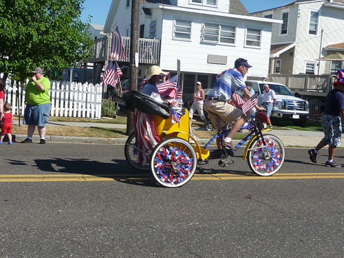 Pedicab - North Wildwood Bike Parade