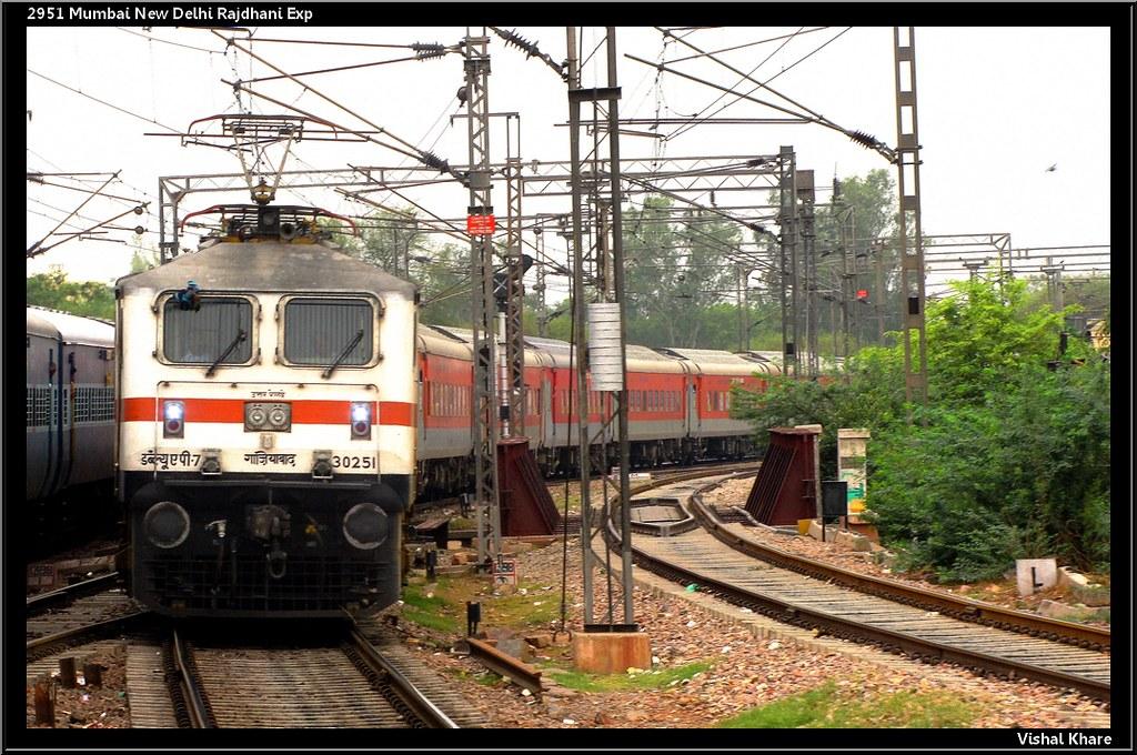 2951 Mumbai New Delhi Rajdhani Express