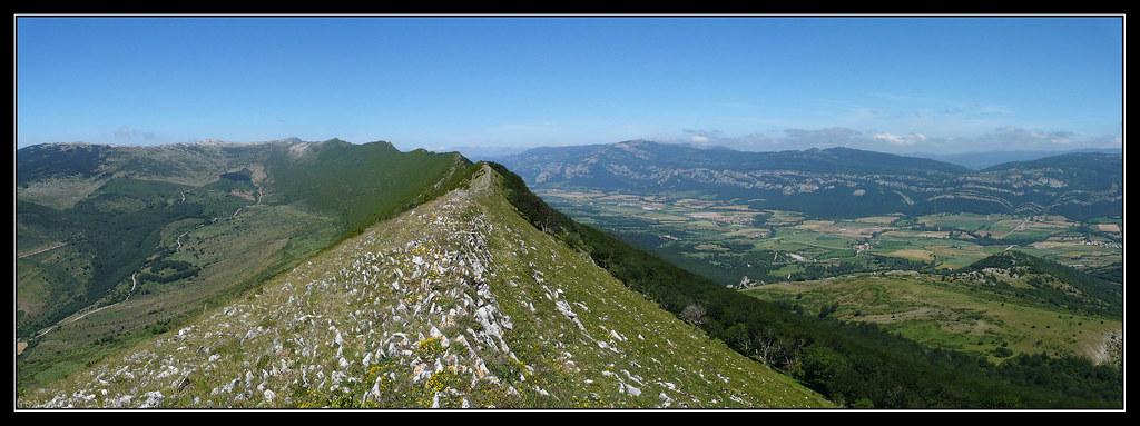 Cresta desde el Churregui