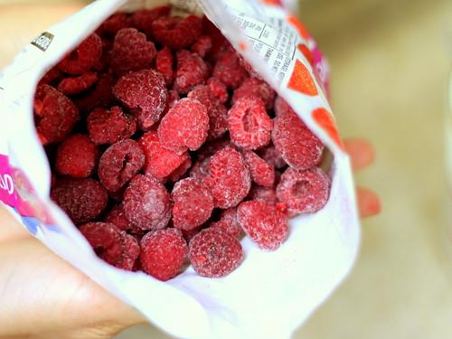 2 cups of raspberries