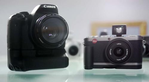 Canon 550D Leica X1