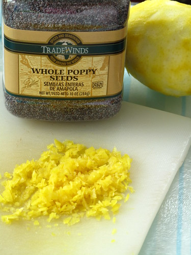 IMG_0088 Lemon Poppy Seeds and Lemon Zest