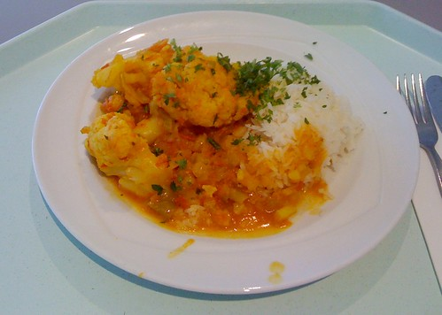 Blumenkohl-Tomaten-Curry