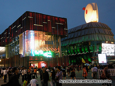 Macau and Hong Kong pavilions