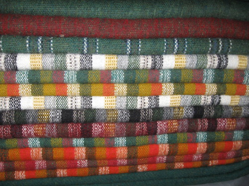 colorful ponchos