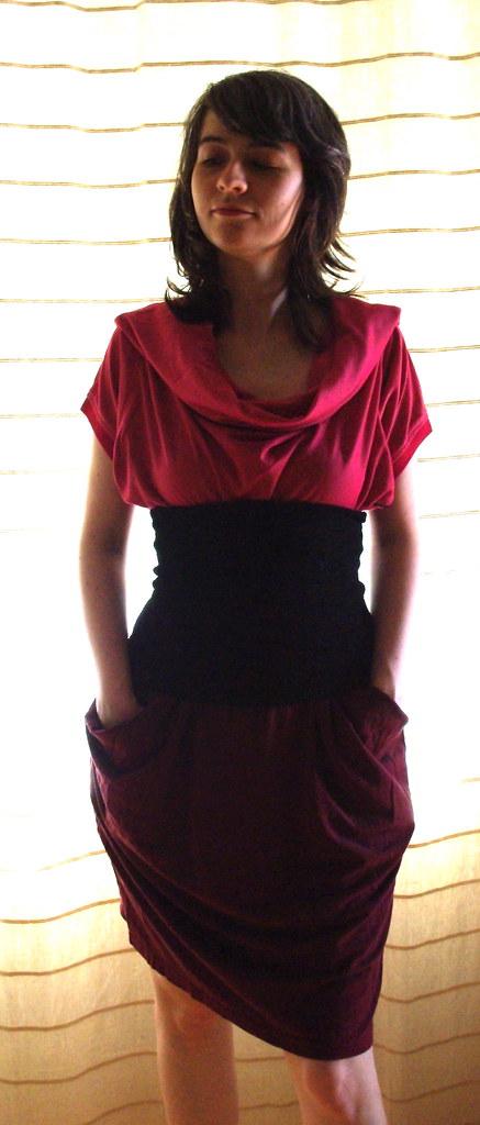Double T-Shirt dress