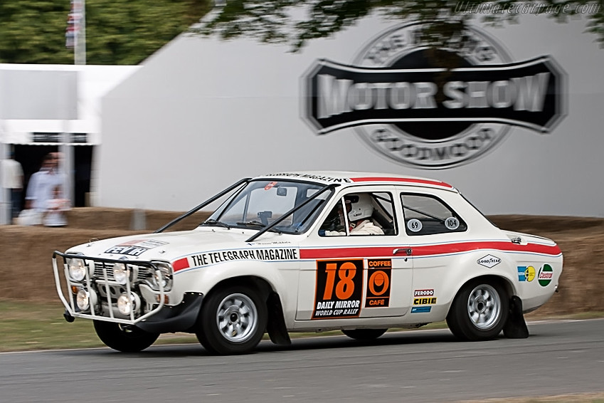 Ford Escort 1850GT H. Mikkola/G. Palm (1970 London-Mexico World Cup Rally) 2010 Goodwood Festival of Speed