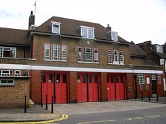 London's Burning - Blackwall AKA Dockhead Fire Station (markkirk85) Tags: london station by aka fire for was engine first used burning series 12 appliance londons brigade e34 lwt dockhead blackwall