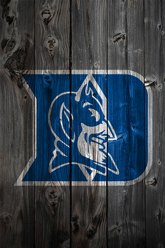 duke blue devils wallpaper. Duke Blue Devils Wood iPhone 4