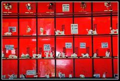 ESCAPARATE ROJO EN JAPON (Luz D. Montero Espuela. 2.5 million visits. Thanks) Tags: trip travel primavera japan spring rojo asia colores viajes oriente seda escaparates japn mygearandme luzdmonteroespuela ringexcellence