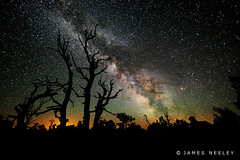 Starry Night (James Neeley) Tags: nightphotography stars idaho cratersofthemoon starrynight milkyway lowlightphotography jamesneeley flicker16