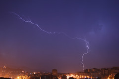 Tormenta sobre Vigo (Contando Estrelas) Tags: storm night flash tormenta thunderstorm lightning rayo thunder trueno relmpago
