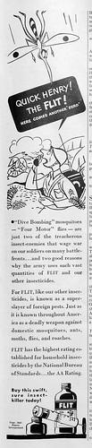 Ted Geisel/Dr. Seuss Flit Ad 1944