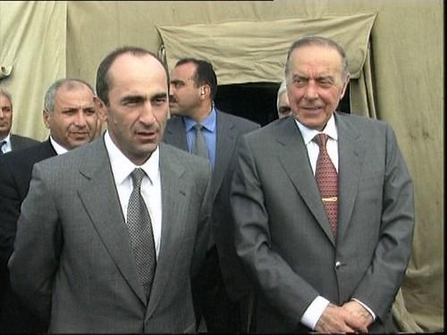 Kocharyan+Aliyev