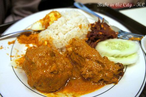 Nasi Lemak set (RM17.30)