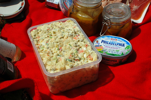 A Massive Tub of Russian Salad