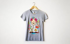 Tshirt 002 (Superfex*) Tags: illustration design tshirt apparel lafraise superfex
