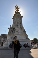 The Sun Shines Behind Victoria