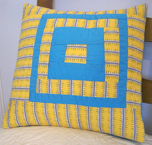 Denyse Schmidt quilted pillow