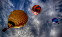 3 Balloons (TVGuy) Tags: sky hot clouds colorado air balloon transportation denverco tvguy theperfectphotographer