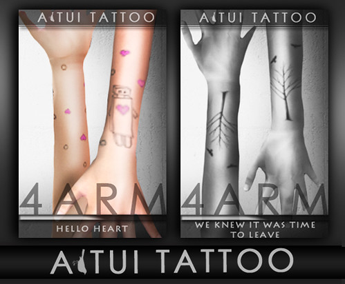 AITUI TATTOO - Lower Arms