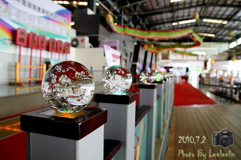 台明將台灣玻璃館 全台唯一玻璃寺廟 彰化鹿港觀光工廠 彰濱工業園區