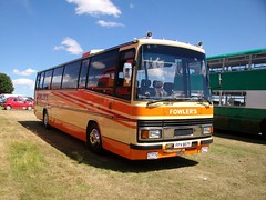 FFV 807Y Fowlers (markkirk85) Tags: bus rally leopard coopers 3200 peterborough leyland 2010 drove fowlers holbeach plaxton ffv tourmaster ffv807y 807y