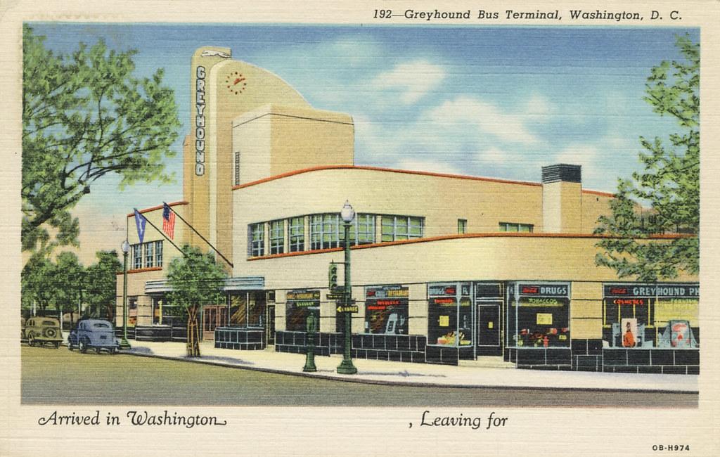 99aca04eb22d Streets of Washington  Washington Deco  The Old Greyhound Terminal