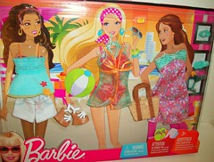 On  the  Beach (napudollworld) Tags: summer fashion outfit shoes dress barbie best pack buy fashionista mattel