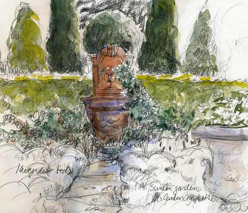 Normandy: Jardins Agapanthe glimpse