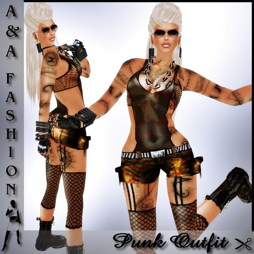 A&A Fashion Punk Outfit