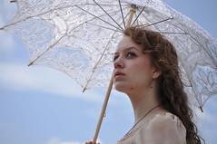 ________ (callisonkeating) Tags: sky girl beautiful hair nikon curly parasol stunning nea bleker callisonkeating