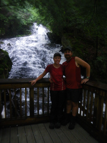 Chris & Misti @ Thunder Falls