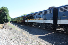 IMG_1302 (The Train Logger) Tags: ns norfolksouthern 955 funit pittsburghline f9a officecarspecial ns4270
