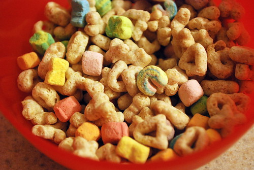 Lucky Charms - Breakfast of Champions