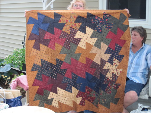 Becky's Windmill Quilt