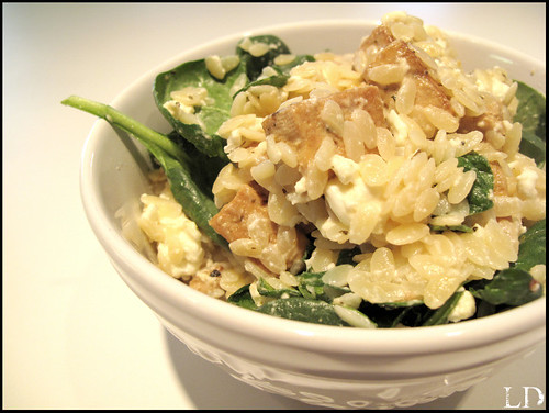 Claudia's Orzo Dish