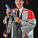 Stephen Martin receives an Honorary Degree from University of Hull 13-07-10