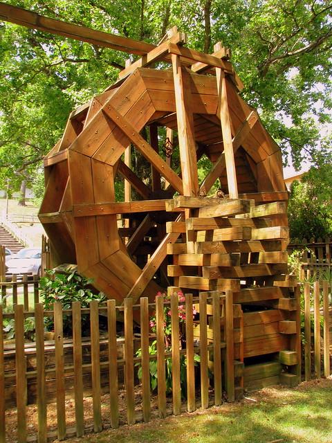Hurricane Mills Water Wheel