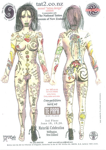 Tā Moko (tattoo) competition winners