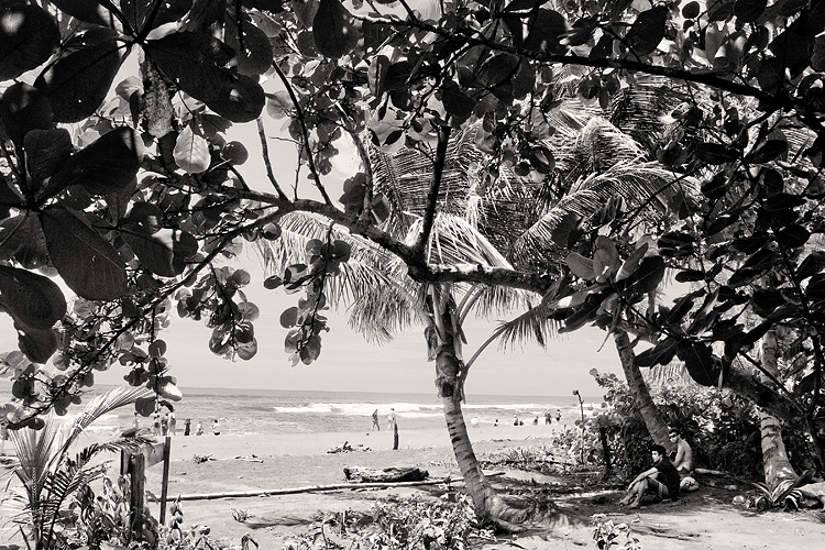 retro-cool on a hot Costa Rican beach