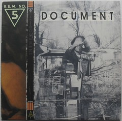 1986 R.E.M. Document LP record album sleeve vintage vinyl 1980s cover (Christian Montone) Tags: music records graphics album vinyl cover albums lp record covers 1980s rem sleeve