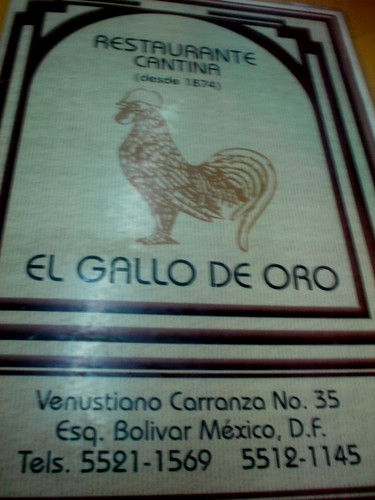 1 Gallo de oro