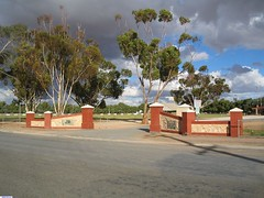 Entrance to the Mallala Sporting Complex