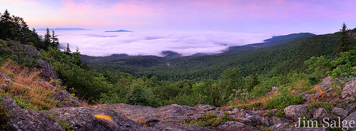 Sunrise Pano From Percival